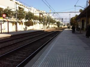 Estacion de tren - Sitges