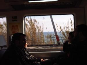 Mediterráneo desde el tren