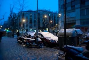 Mucha gracia me causó la nieve en Gracia.